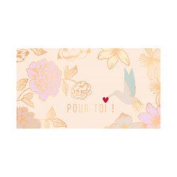Tablette chocolat cadeau Noir 52% BIO - Pour Toi !