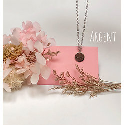 Collier Seins de Femme - Les Minis - Argent