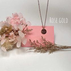 Collier Seins de Femme - Les Minis - Rose Gold