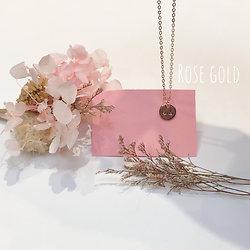 Collier Seins de Femme les Pommes rose gold