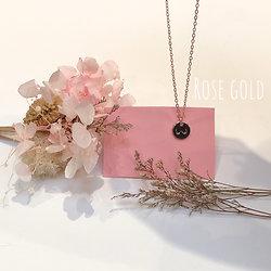 Collier Seins de Femme les Poires rose gold