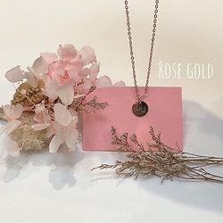 Collier Seins de Femme l'Asymétrique rose gold