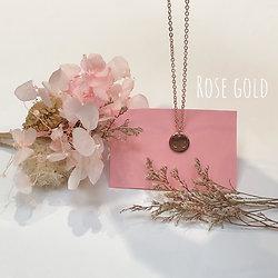 Collier Seins de femme Le Curieux rose gold