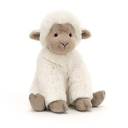 Peluche Jellycat Agneau - Libby Lamb Small - LIB3L 18 cm