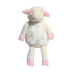 Doudou peluche mouton - Rose