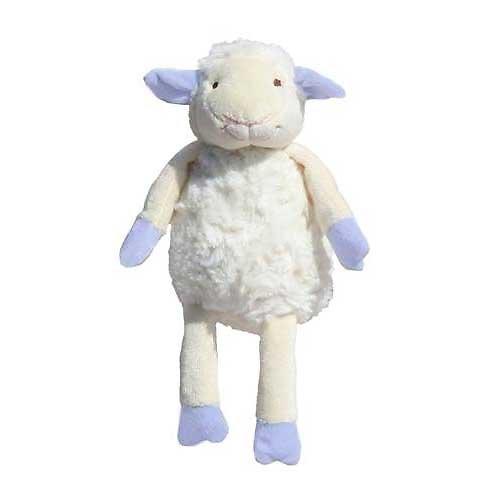 Doudou peluche mouton - Bleu