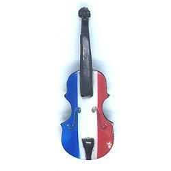 magnet-Violon-français- violon-au-couleurs-drapeau-français
