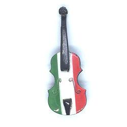 magnet-Violon-italien- violon-au-couleurs-drapeau-italien