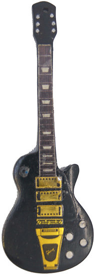 Magnet-GIBSON-Lespaul-Deluxe-noire-Keith-Richard-Rolling-Stones