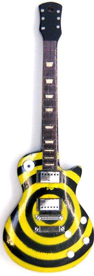 Lespaul Custom spirale jaune
