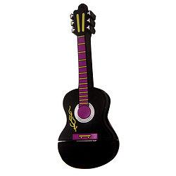 Guitare classique noire