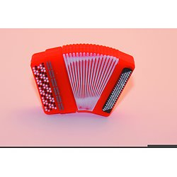Accordeon orange