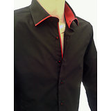 Chemise homme noire sexy