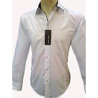 Chemise italienne blanche pour homme