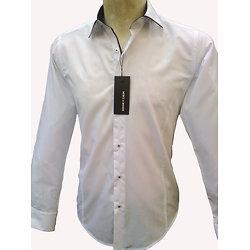 Chemise blanche élégance pour homme
