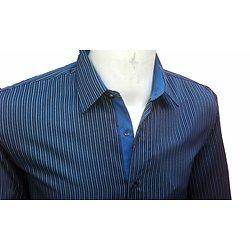 Chemises à rayures ample pour homme