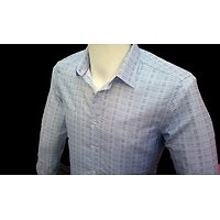 Chemise bleue ciel pour homme