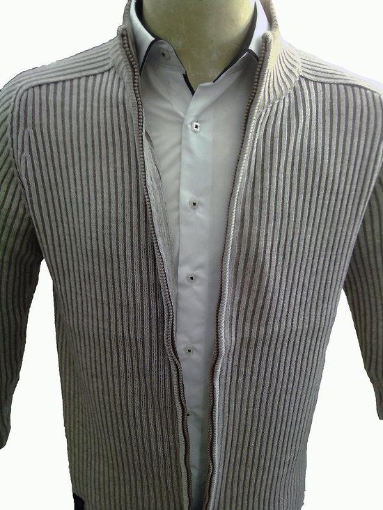 f877f6b80f444 gilet beige zippé pour homme achat en ligne