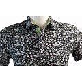 chemisette à fleurs pour homme