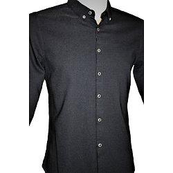 Chemise homme noire sexy moulante