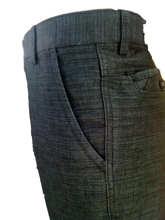 Pantalon noir habillé pour homme