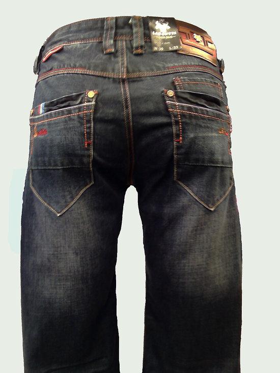Jeans bleu tendance pour homme
