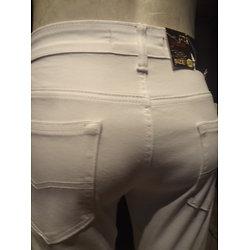 Pantalon blanc en coton pour homme