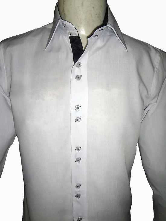 Chemise blanche libertinage pour homme