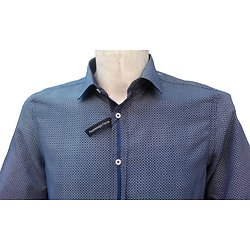 Chemise bleue homme
