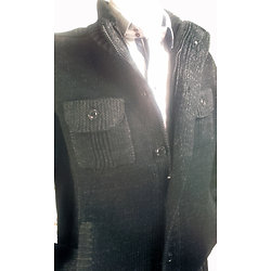 Veste noir pour homme