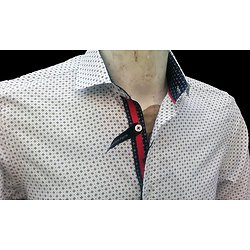 Chemise blanche homme mode