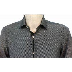 Chemise noire homme