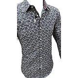 Chemise en coton polyester pour homme
