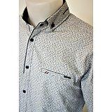 Chemise fashion blanche pour homme