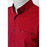 Belle Chemise rouge fashion pour homme