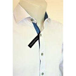 Chemise habillée blanche pour homme