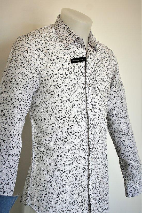 Chemise blanche sans repassage homme