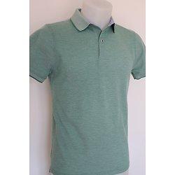 Polo vert pour homme
