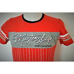 tee shirt rouge pour homme