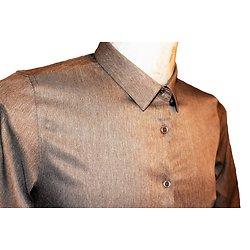 Chemise homme marron claire