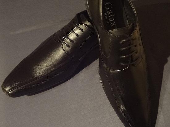 Chaussure habillée noire pour homme