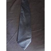 Cravate homme soie marine imprimée