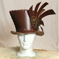 "Chapeau Steampunk "" Honey Steam"" unique"
