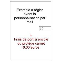 Exemple à acheter avec frais de port si envoie