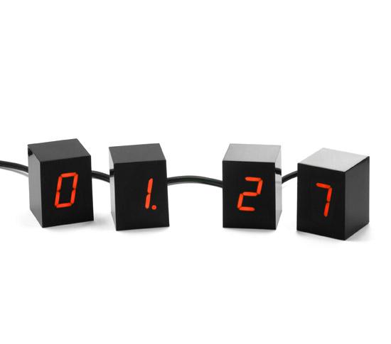 NUMBERS LED CLOCK - DESTOCKAGE