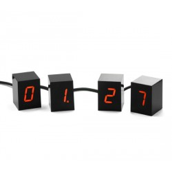 NUMBERS LED CLOCK - DESTOCKAGE