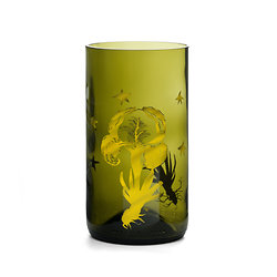 VERRE LEMONADE ORCHIDEE
