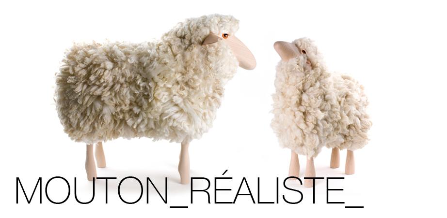 Mouton réaliste