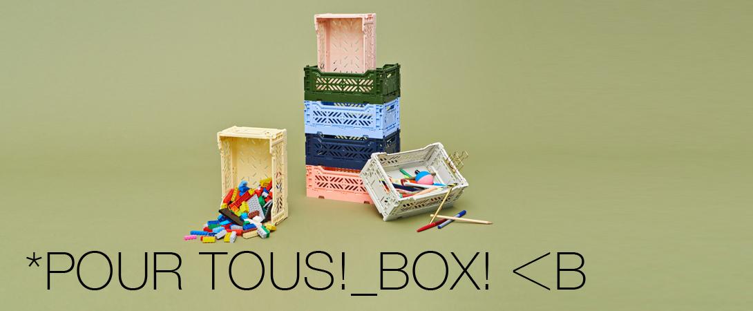 CRATE BOX / MINI BOX MIDI BOK
