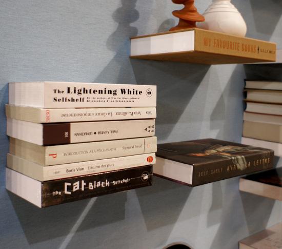 etag re livre trompe l 39 oeil version poche. Black Bedroom Furniture Sets. Home Design Ideas
